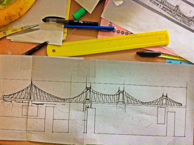 Queensboro Bridge Sketch